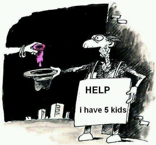 Ajutor cersetorului cu 5 copii
