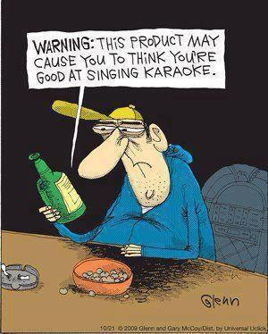 Warning: this product may cause you to think you are good singing karaoke.