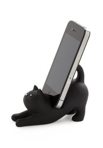 pisica suport pentru telefonul mobil inteligent smartphone
