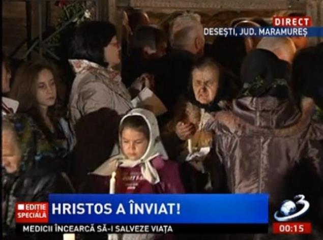 Antena 3 editie speciala Hristos a inviat medicii incearca sa-i salveze viata