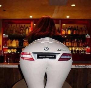 fund femei sexi sigla Mercedes