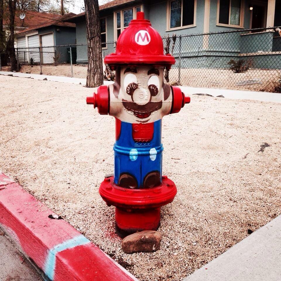 hidrantul cu mustata