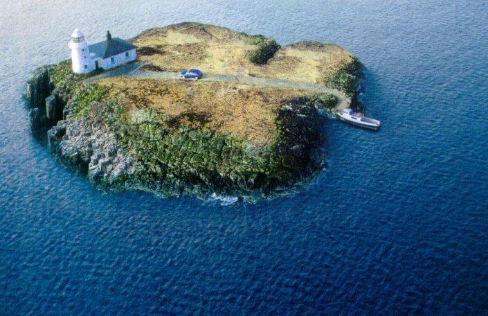 masina de vinzare pe insula