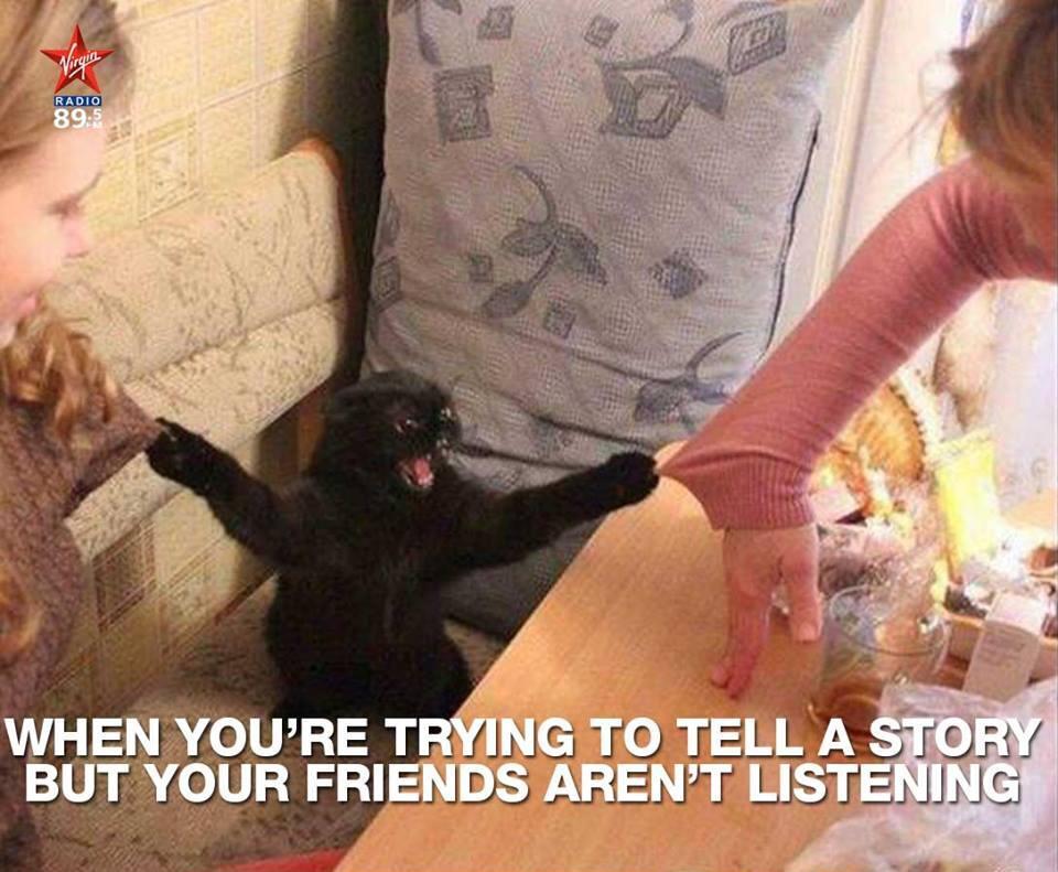 pisica neagra poveste prieteni ascultatori